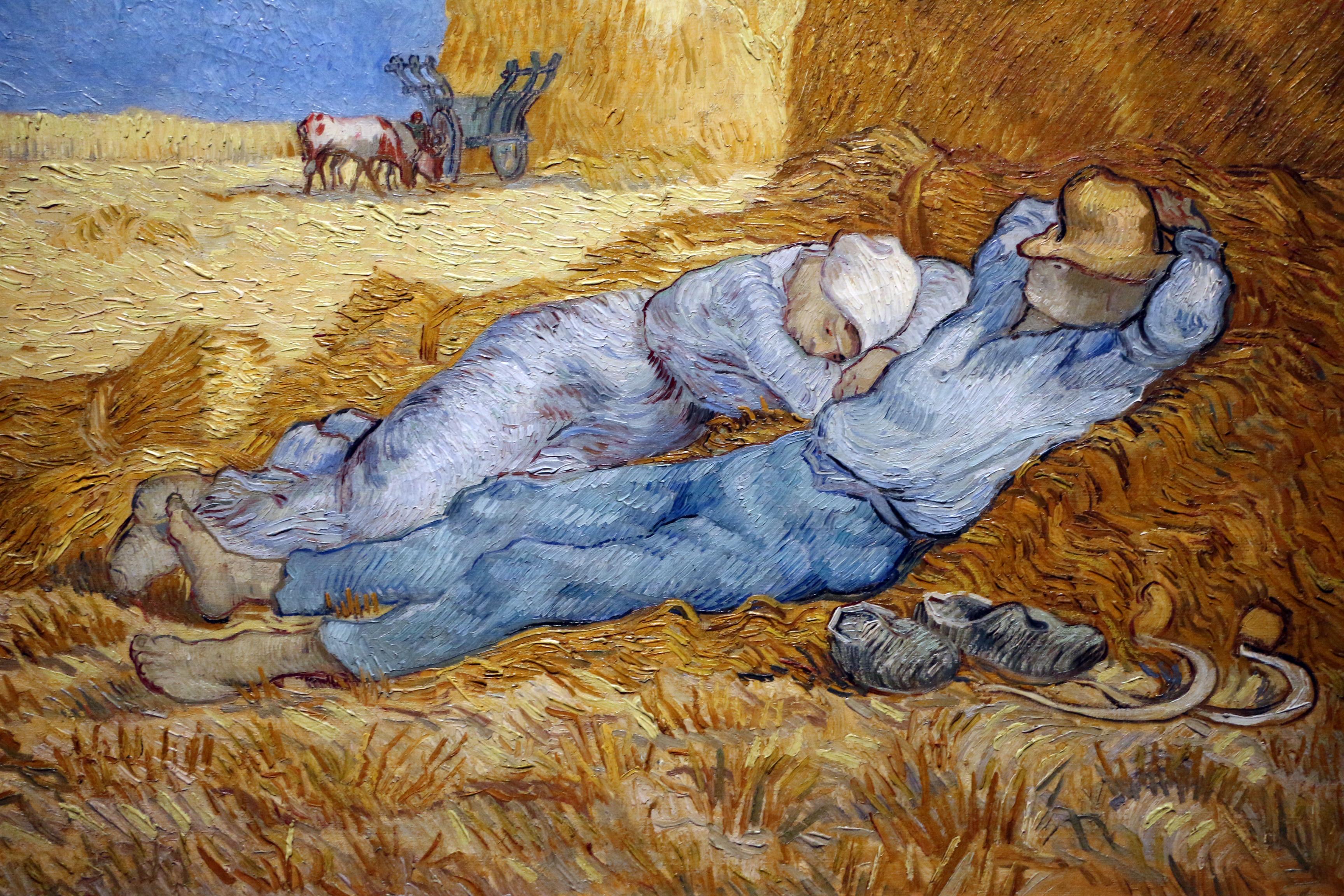 File:Vincent Van Gogh, il meriggio (la siesta), 1889-1890, 03.JPG -  Wikimedia Commons