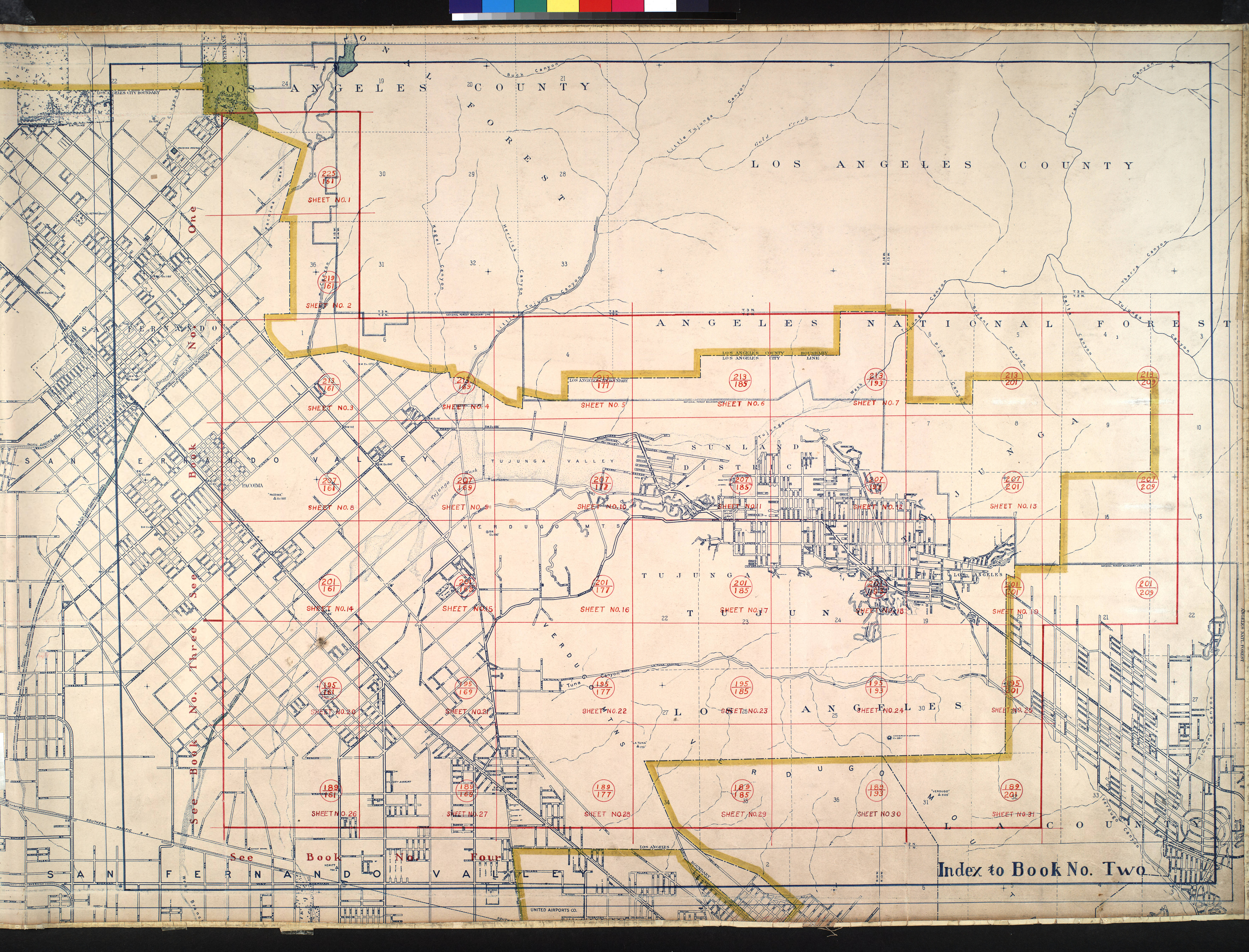 FileWPA Land Use Survey Map For The City Of Los Angeles Book - Los angeles va map