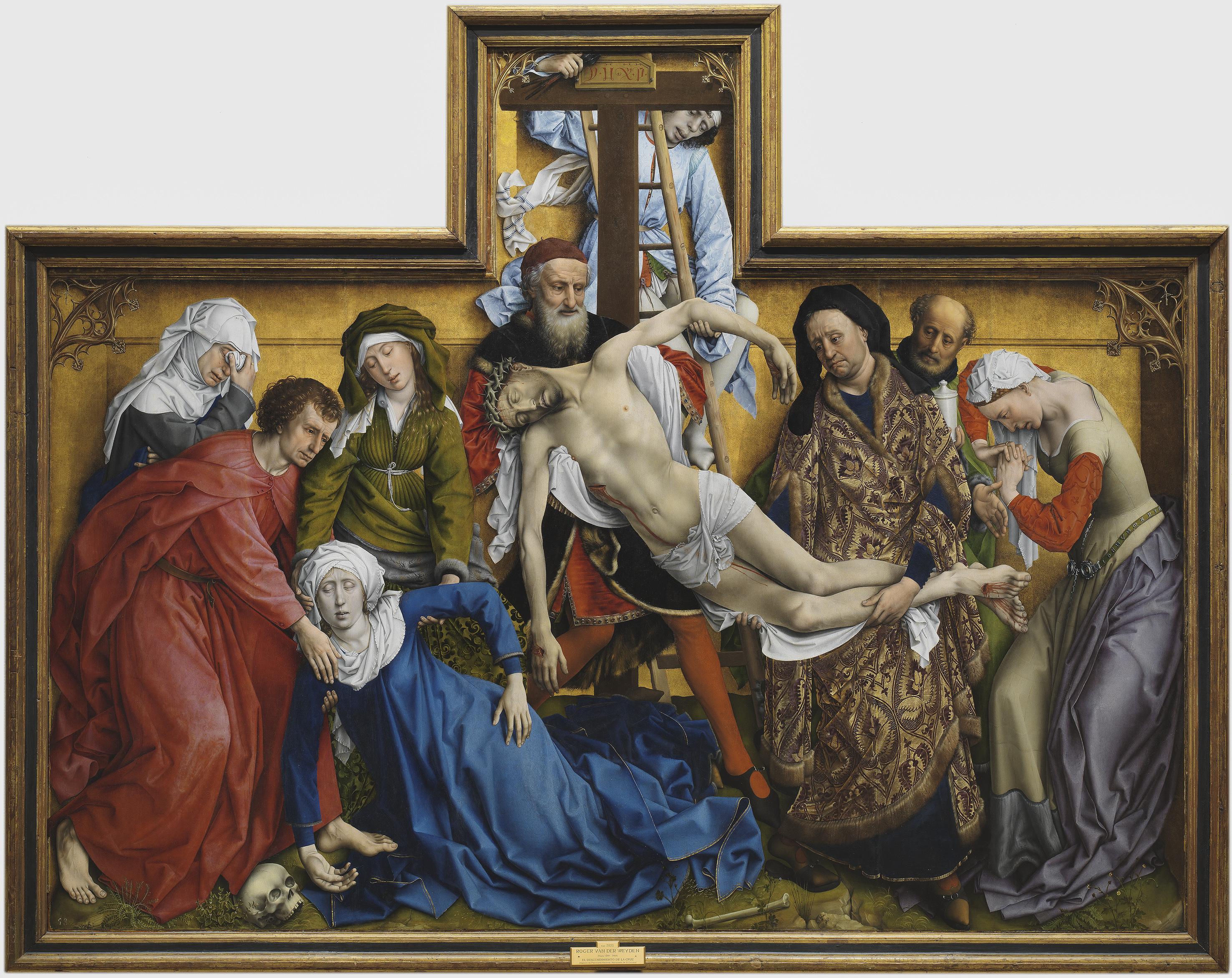 Descendimiento de la cruz (Rogier van der Weyden) - Wikipedia, la ...