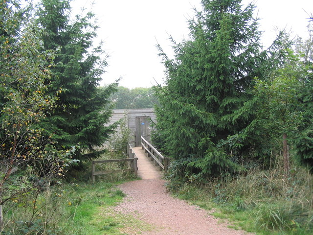 Wildlife Hide, Fineshade Wood - geograph.org.uk - 261574