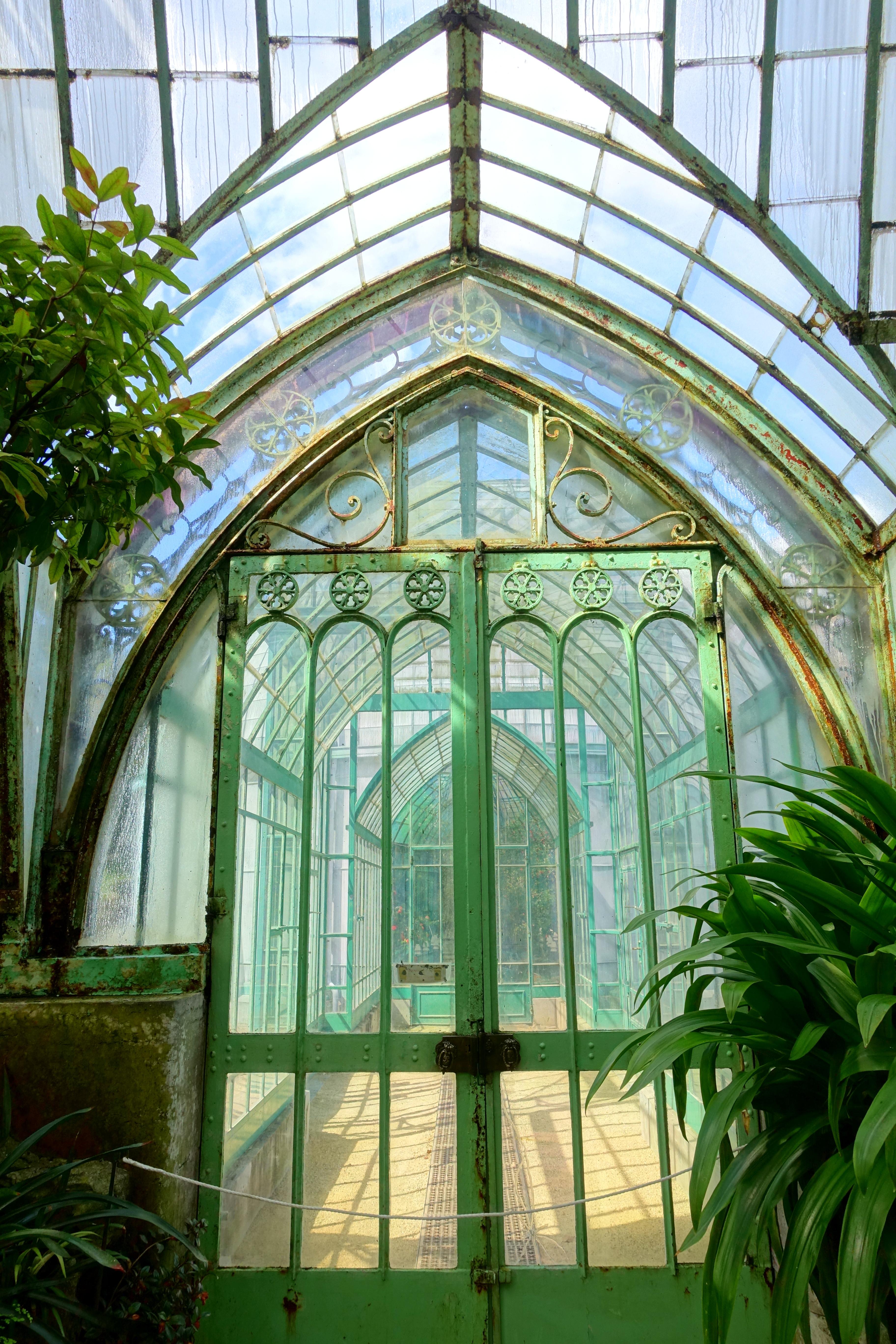 file winter garden doorway laeken royal greenhouses royal