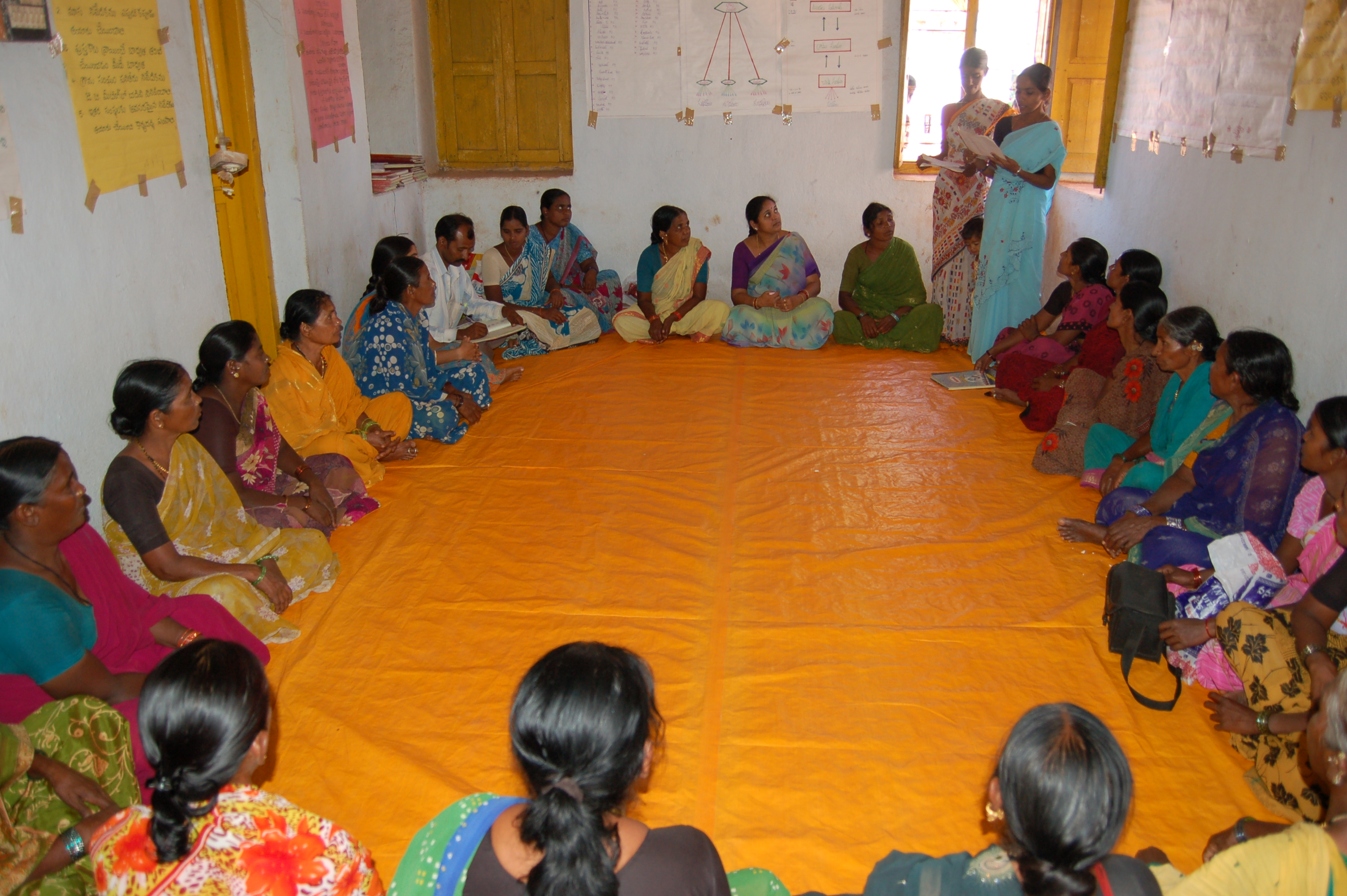 File Women At A Shg Meeting Jpg Wikimedia Commons