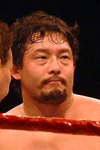 An image of Yoshihiro Tajiri .