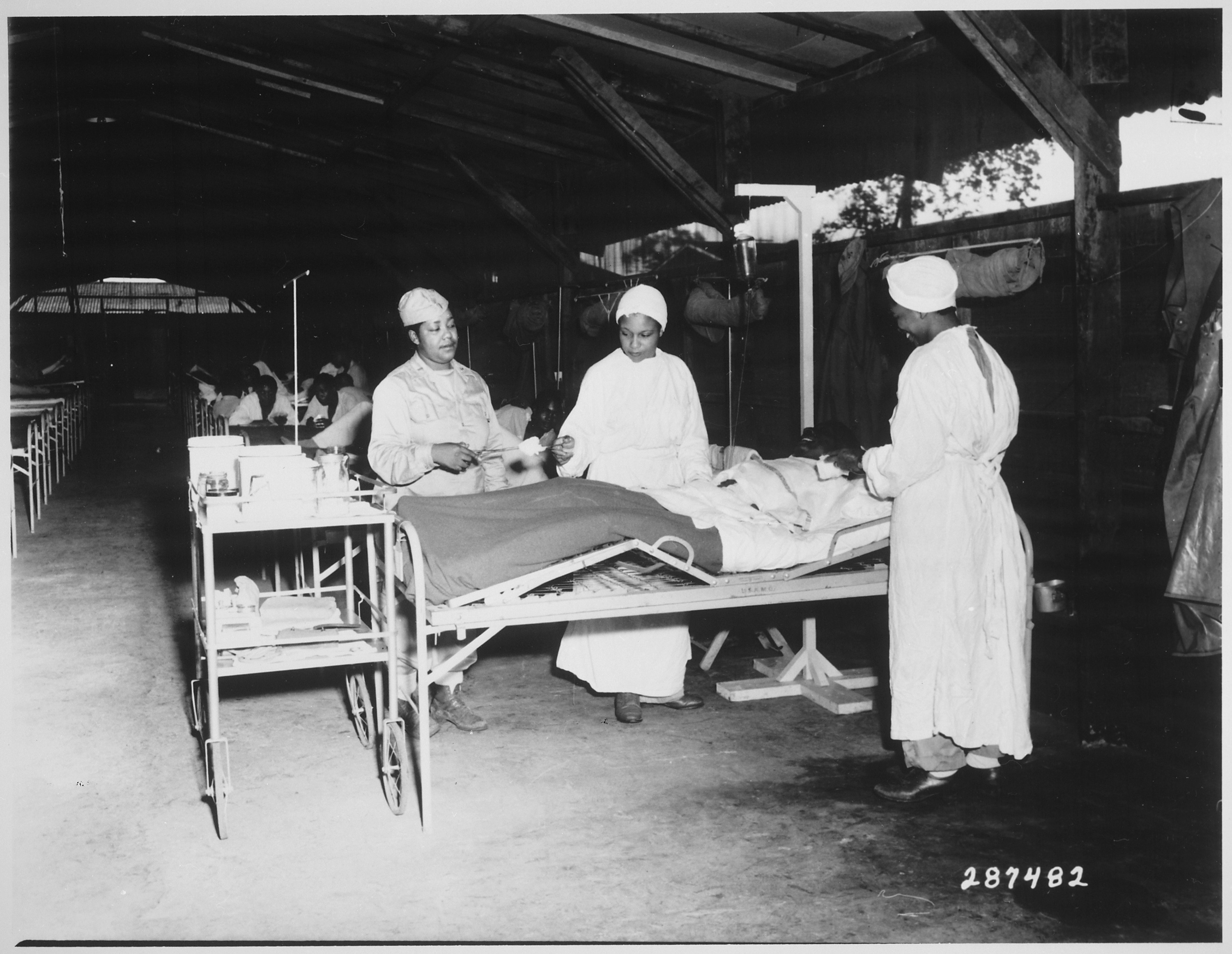 file  u0026quot surgical ward treatment at the 268th station