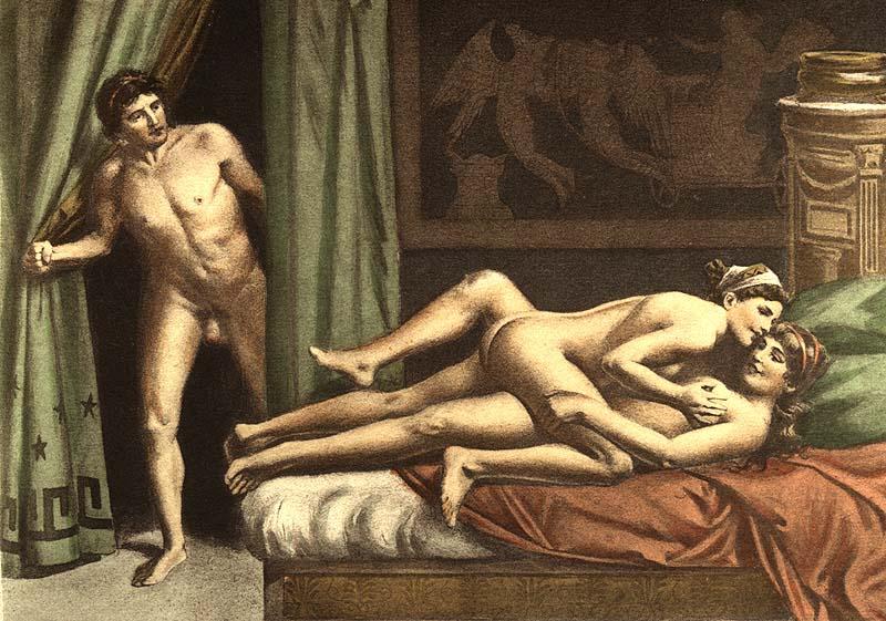 erotic art Bisexual
