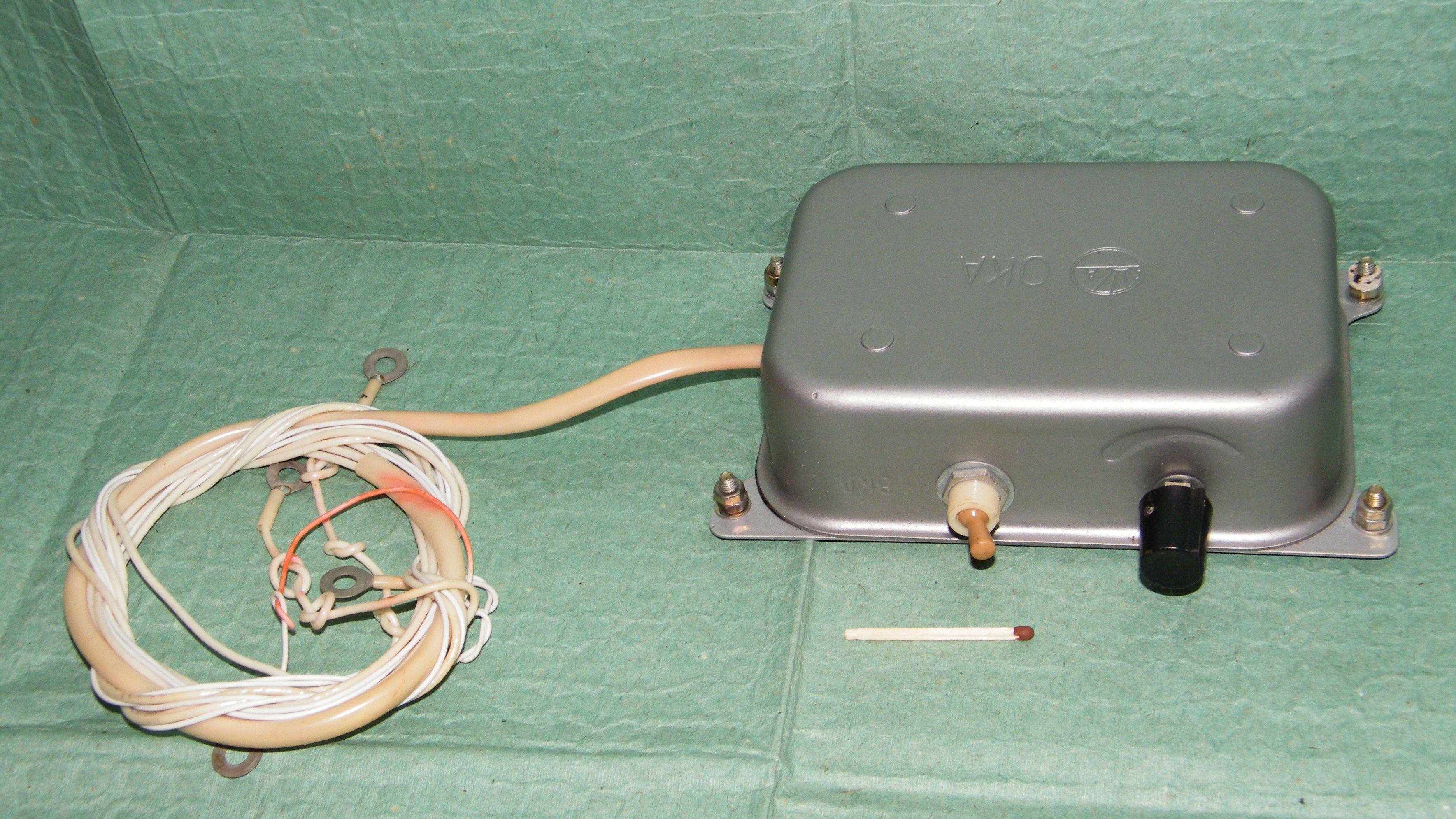 схема контактно транзисторной системы