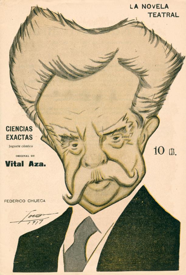 Caricaturizado por Tovar (1917)