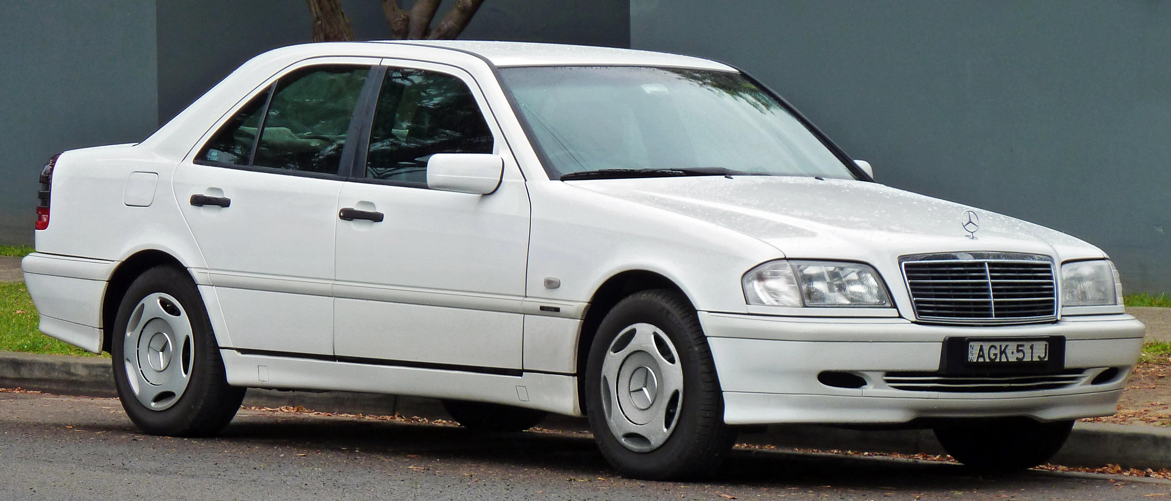 Mercedes benz c class w202 wikiwand for Mercedes benz c class 1998