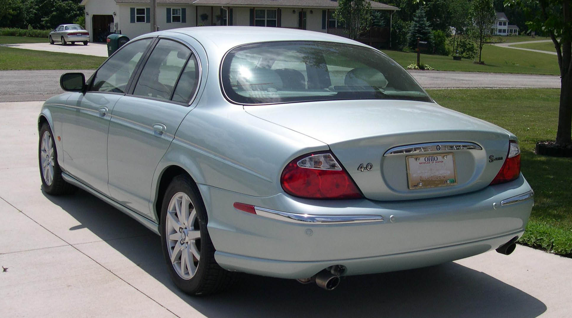 Perfect File:2001 Jaguar S Type Rear 34.JPG