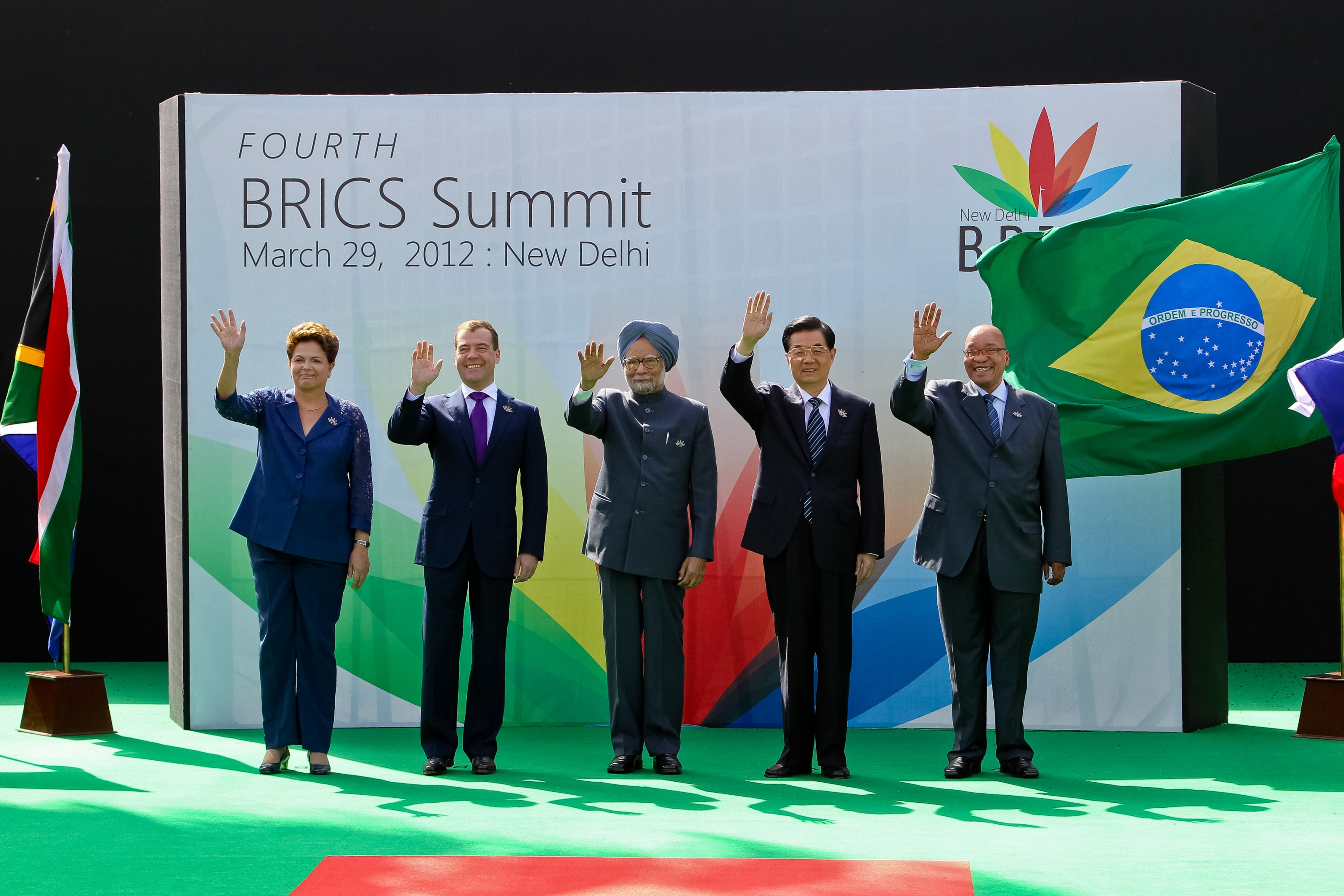 BRICS summit photo op