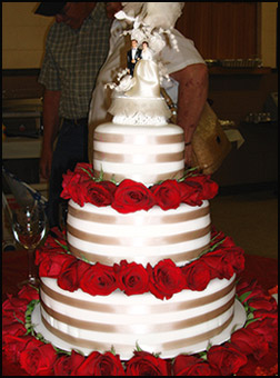 Ruby Wedding Cake Ideas