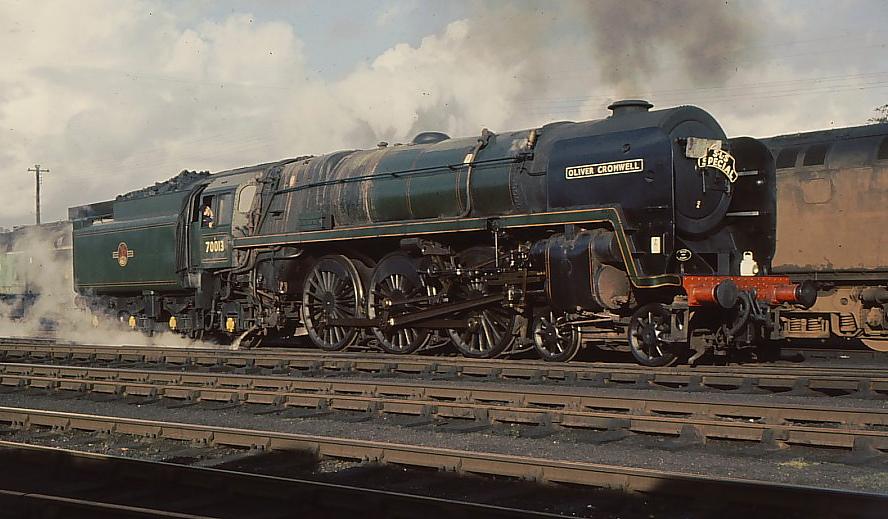 BR Standard Class 7 70013 Oliver Cromwell - Wikipedia