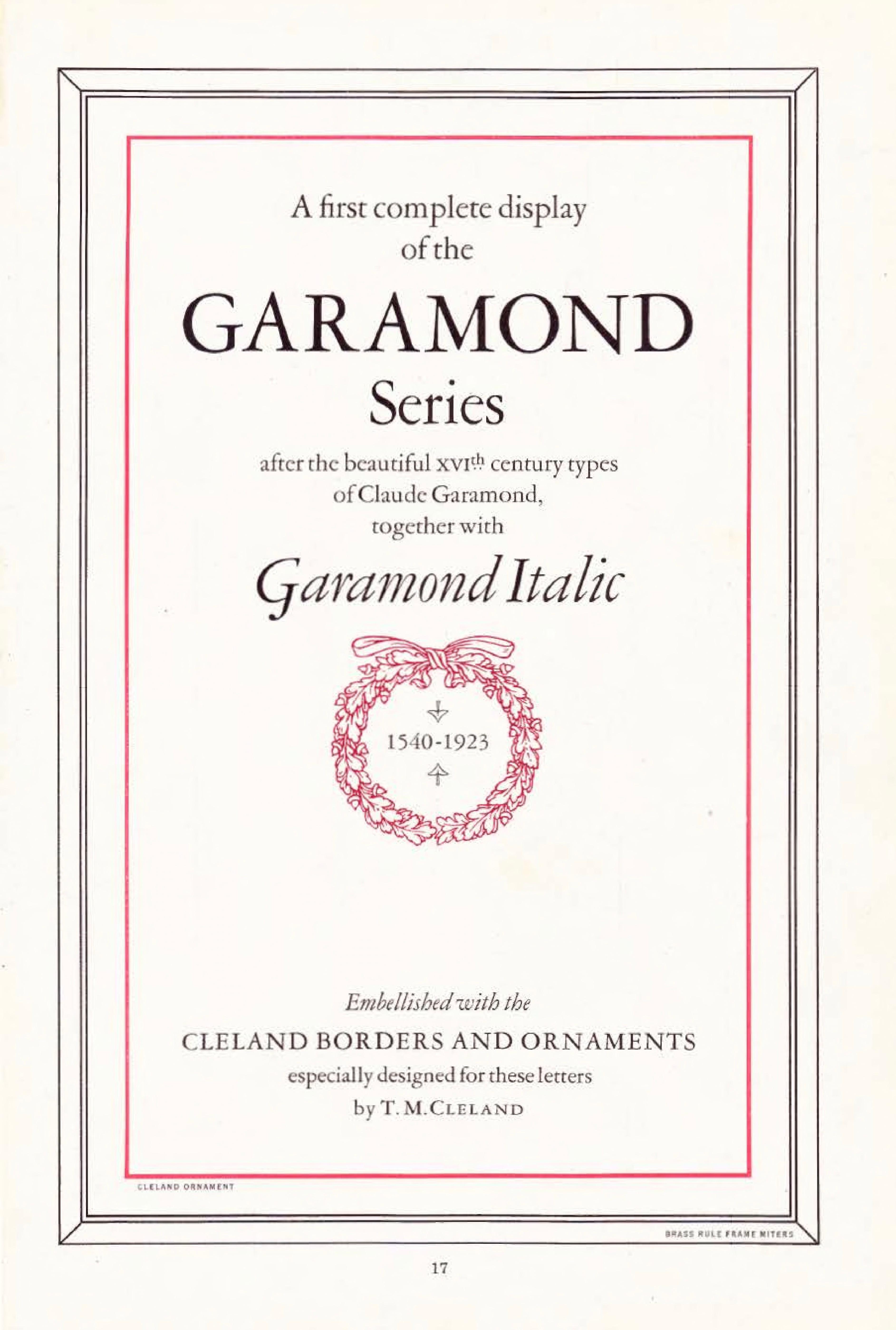 File:ATF 1923 Garamond specimen title page jpg - Wikipedia