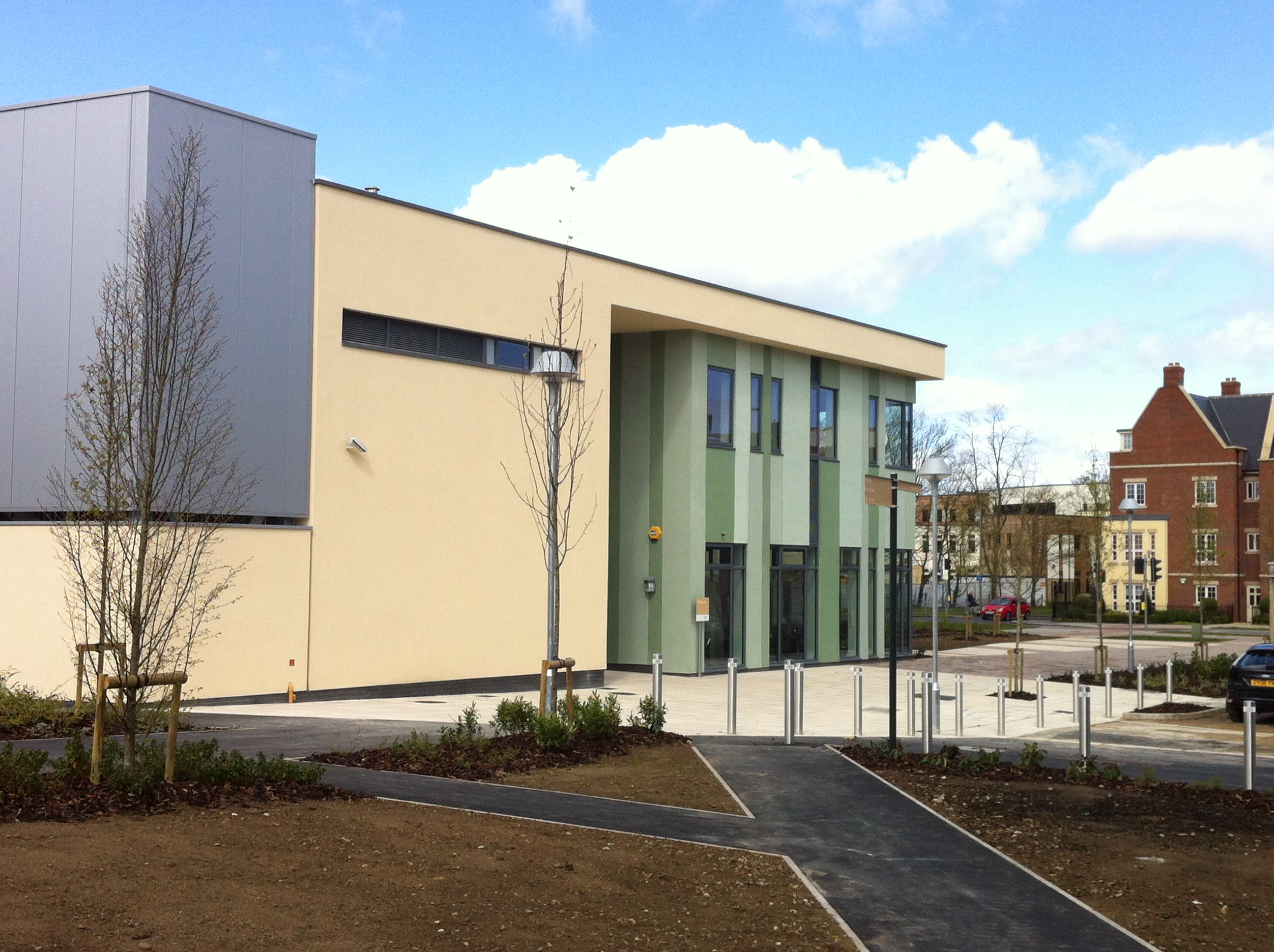 file abingdon and witney college  new building at witney