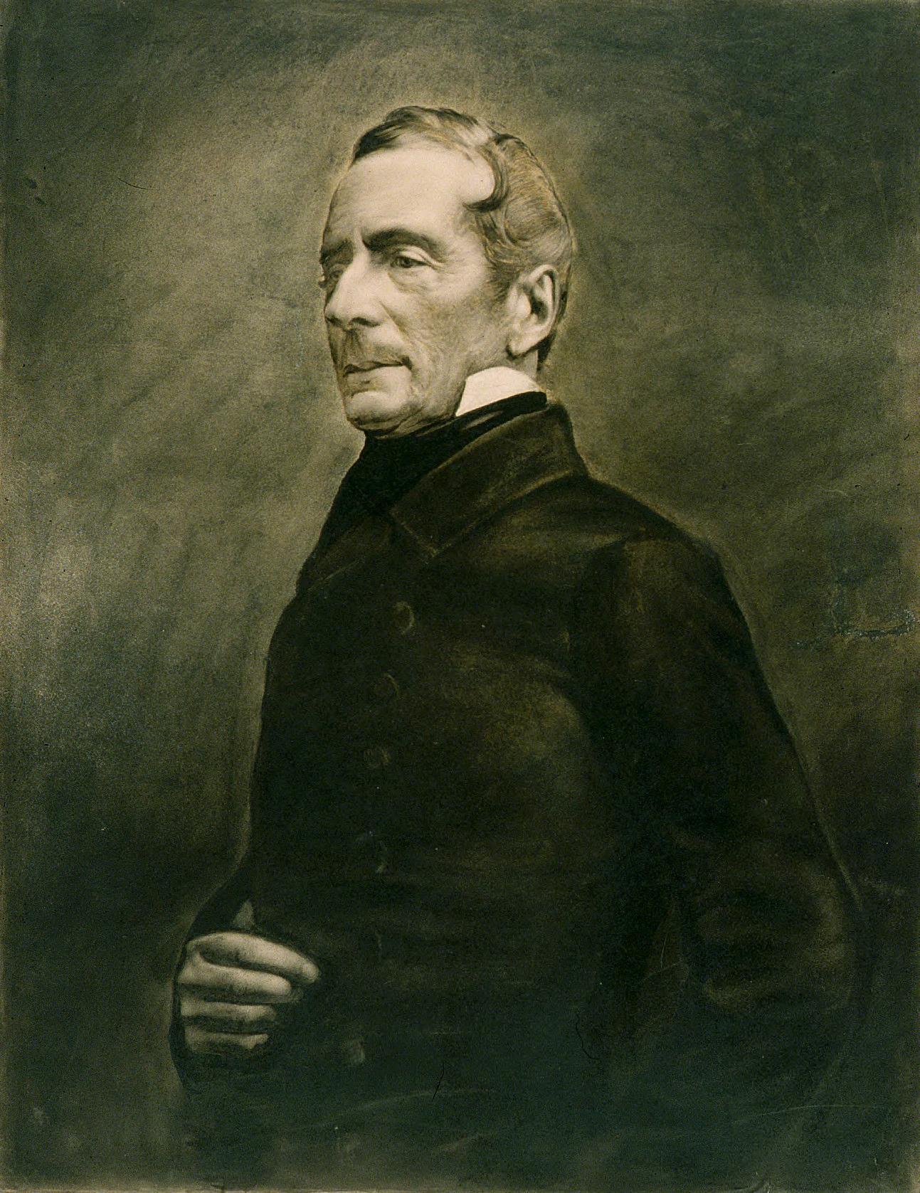 Retrato de Alphonse de Lamartine (1856).