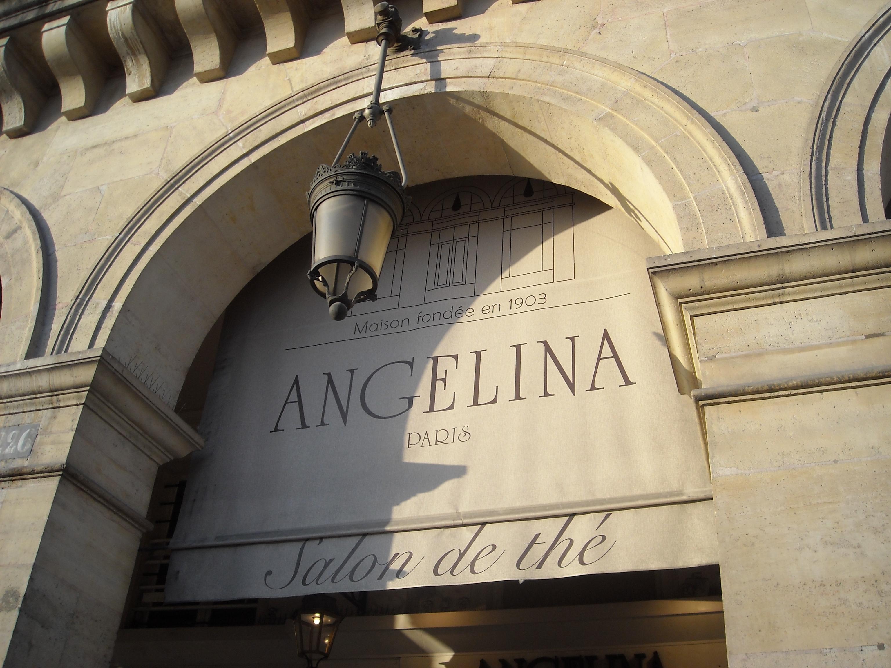 Angelina caf - Angelina salon de the ...