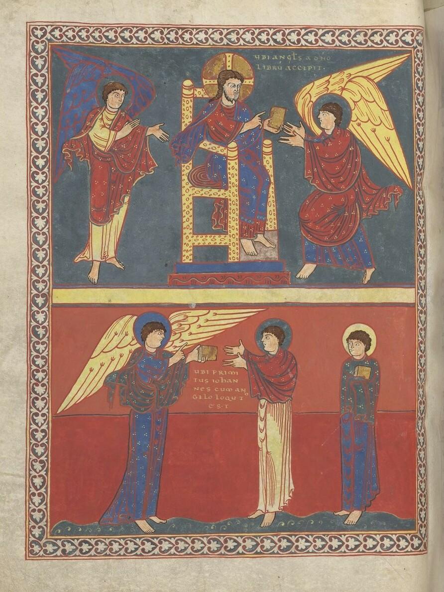 Larry Hunt Bible Commentary // St. John Receiving the Revelation