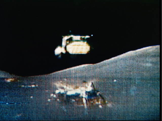 the lunar lift off from moon nasa - photo #9