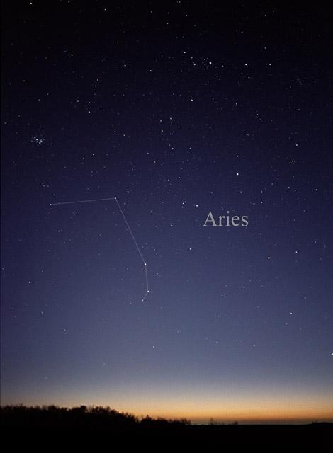 aries constellation within nebula - photo #19