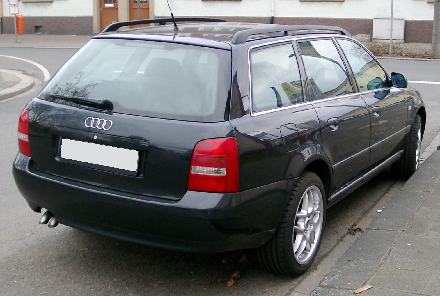File Audi A4 B5 Avant Rear 20080121 Jpg Wikimedia Commons
