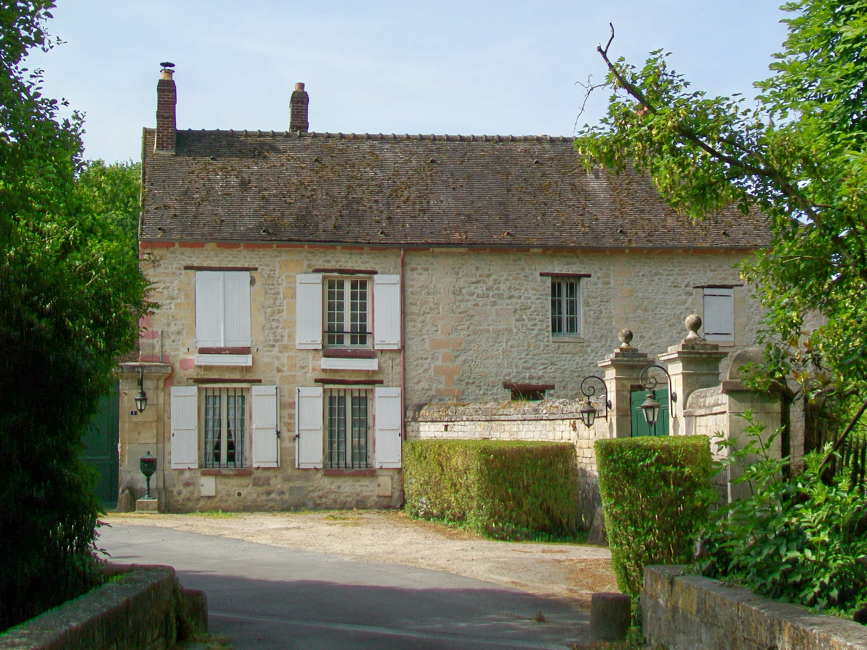 File:Avilly Saint Léonard, Logis De La Ferme Du0027Avilly.