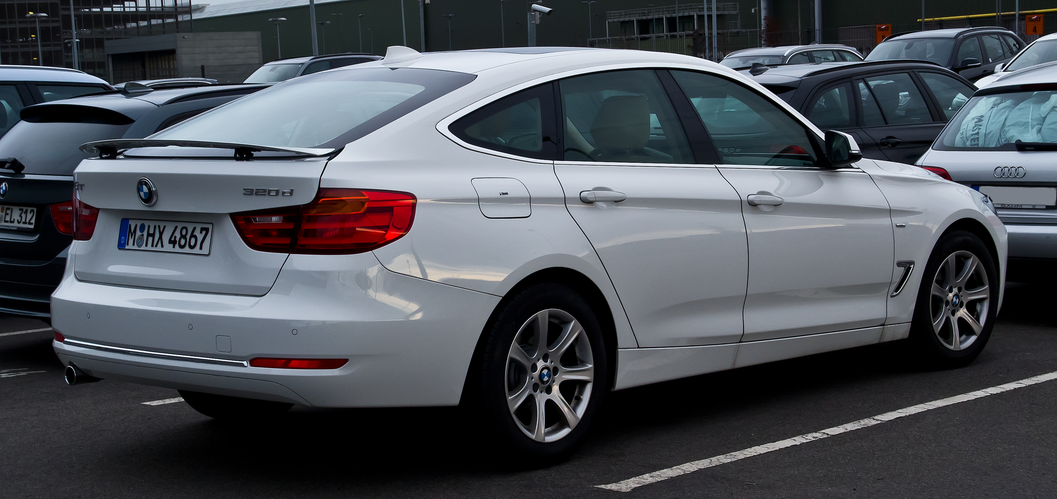 File Bmw 320d Gt Luxury Line F34 Heckansicht 21