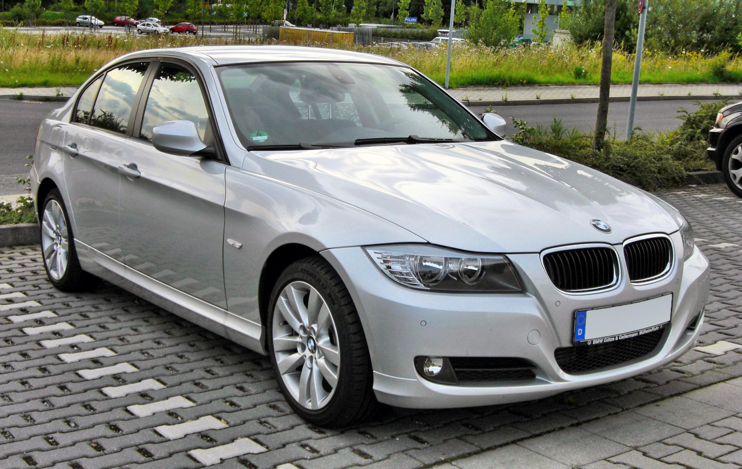 file bmw 3er e90 facelift 20090720 front jpg wikipedia. Black Bedroom Furniture Sets. Home Design Ideas
