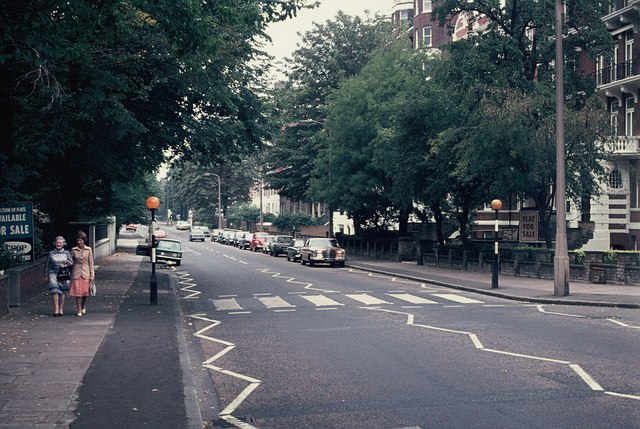 File:Beatles' Zebra Crossing in Abbey Road, NW8 - geograph.org.uk - 323003.jpg