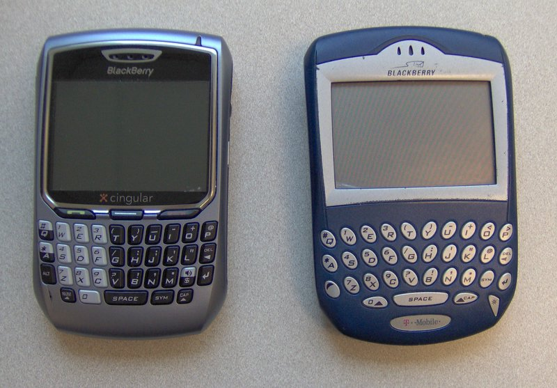 Blackberry 8700c and 7230
