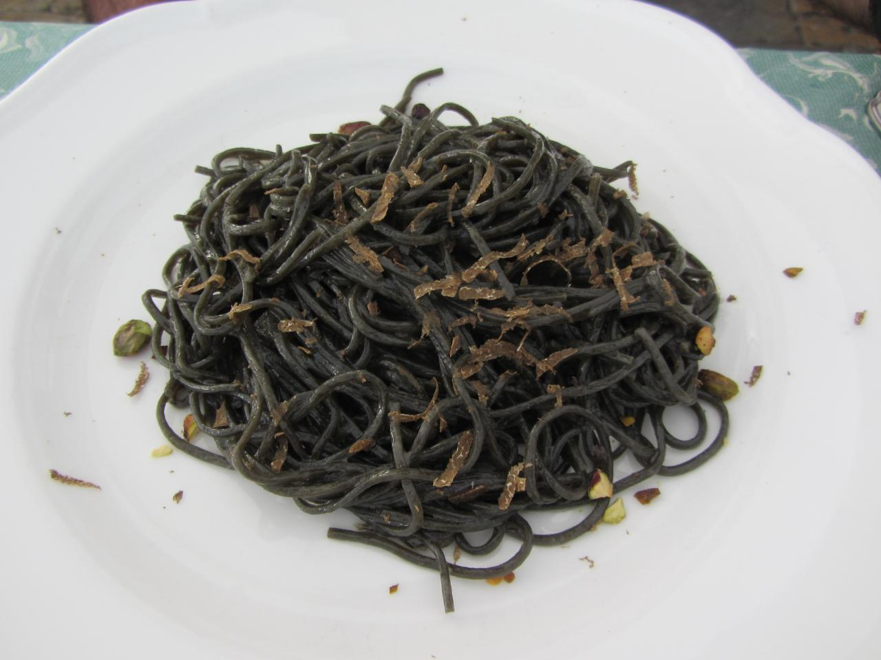 File Black Pasta With Truffle And Pistachio Jpg
