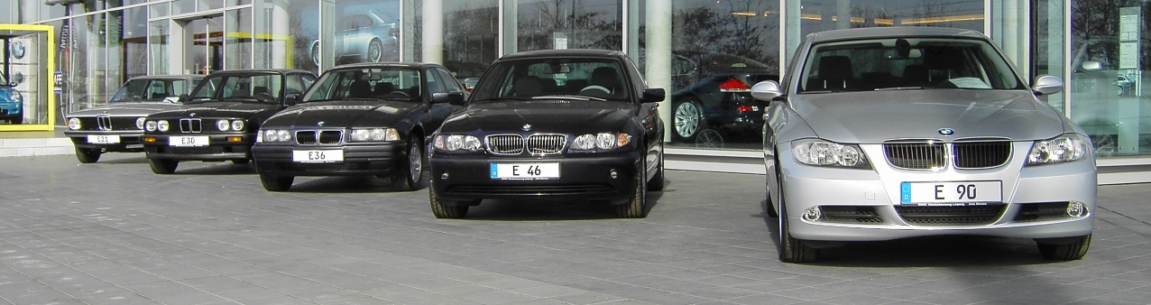BMW 3 Series from the old to the new, through E90