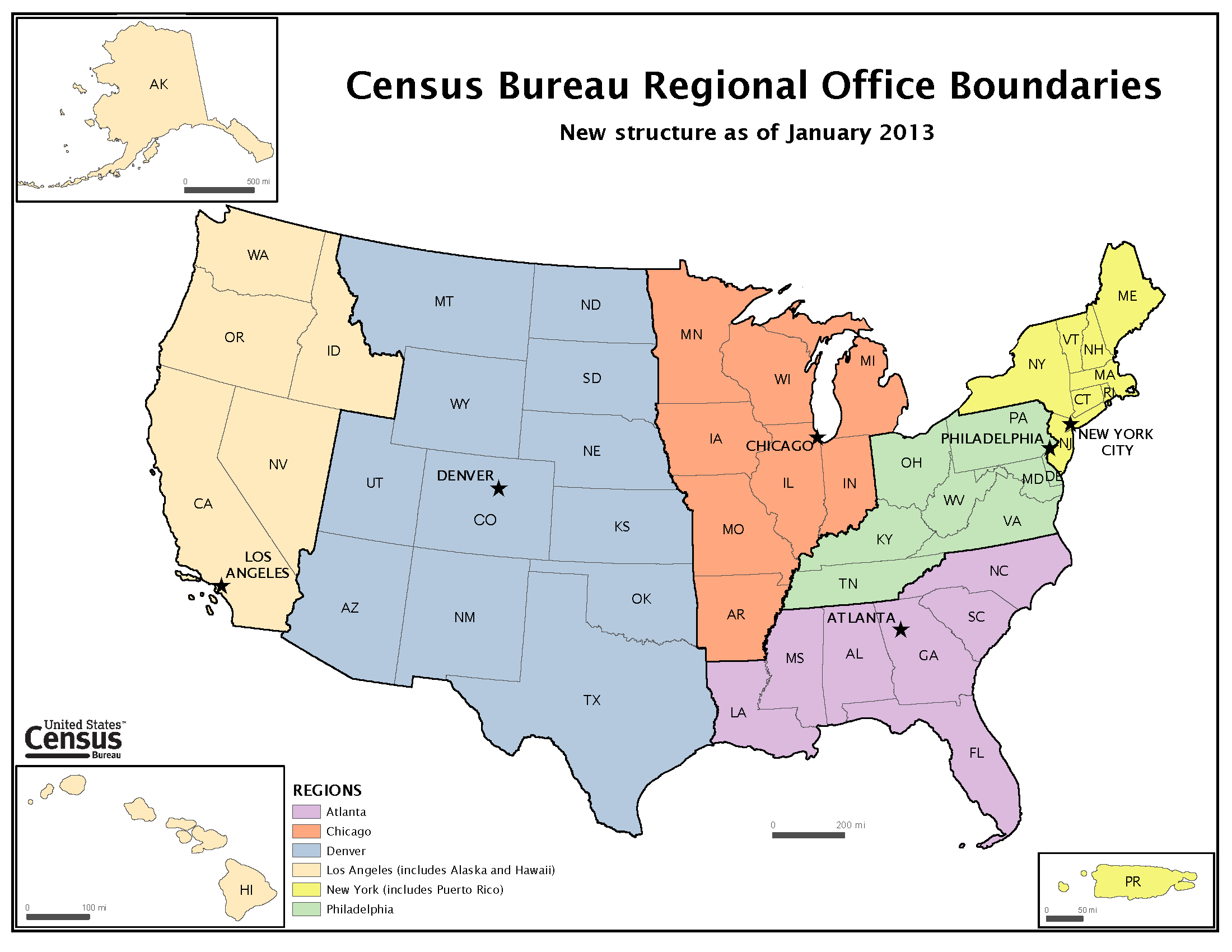 Administrative territorial entity of the united states wikidata - United states bureau of the census ...