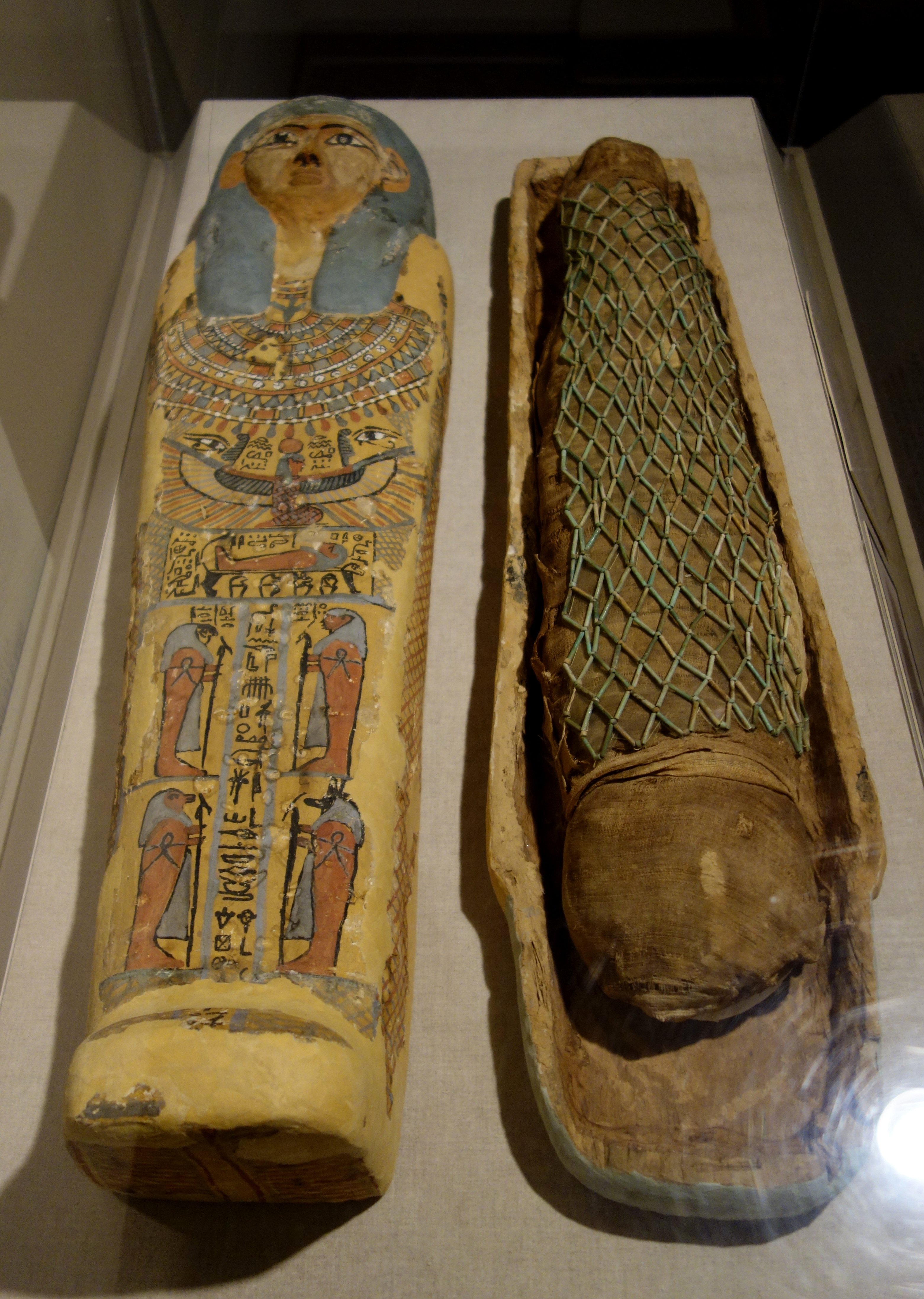 In The Mummy S Tomb Natural History Museum