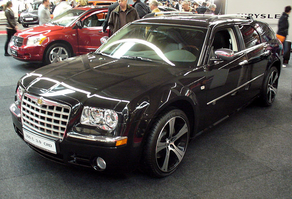 file chrysler 300c touring 3 0 crd jpg wikimedia commons. Black Bedroom Furniture Sets. Home Design Ideas