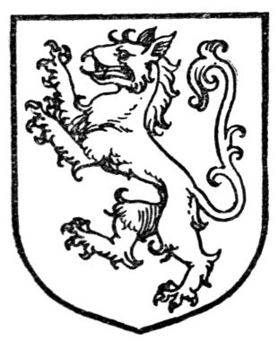 A heraldic Tyger