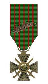 Bestand:Croix de Guerre met Palm van Milan Rastislav Štefánik..jpg