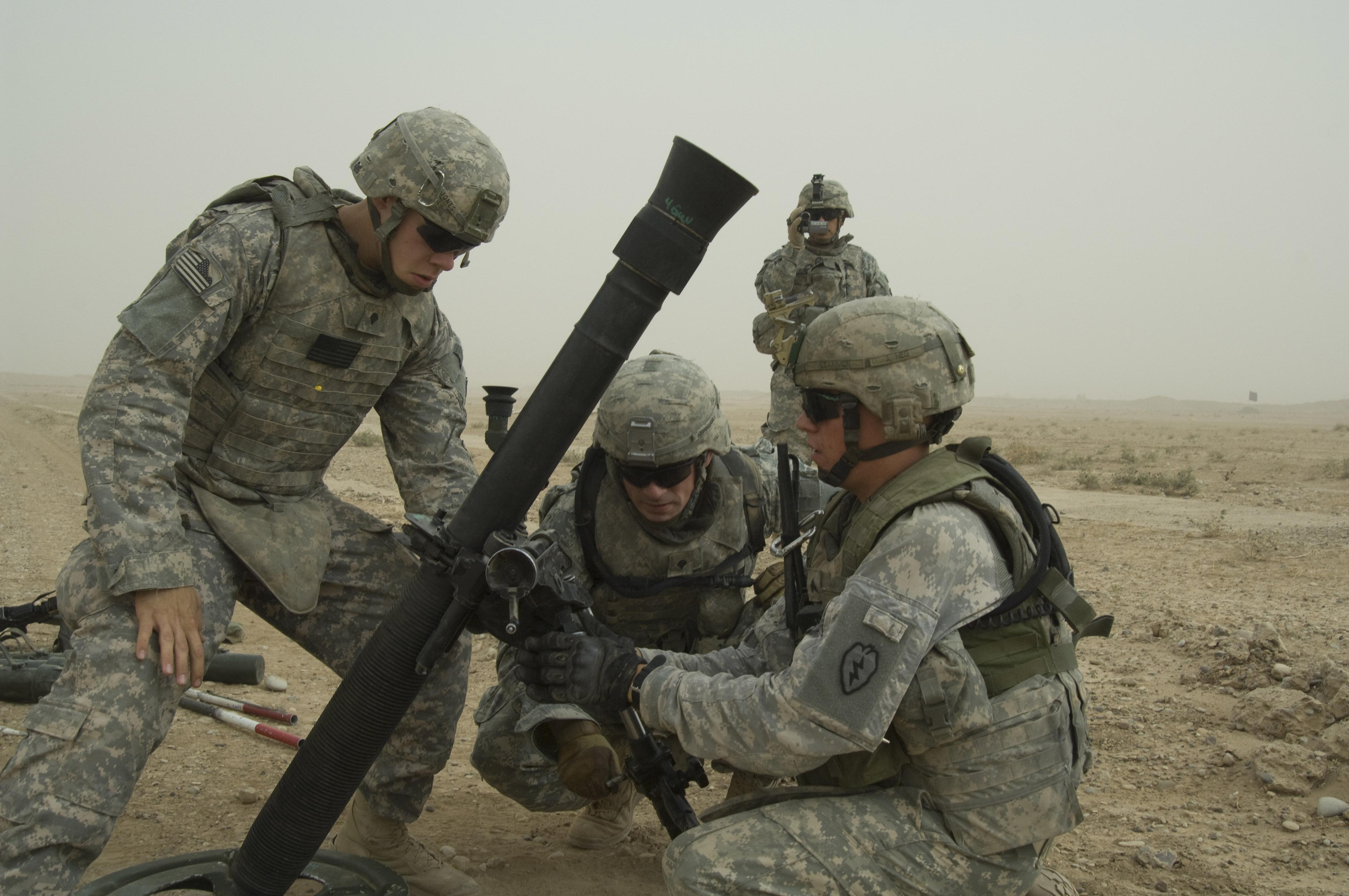 Military Mortar Sizes : File defense news photo n w g