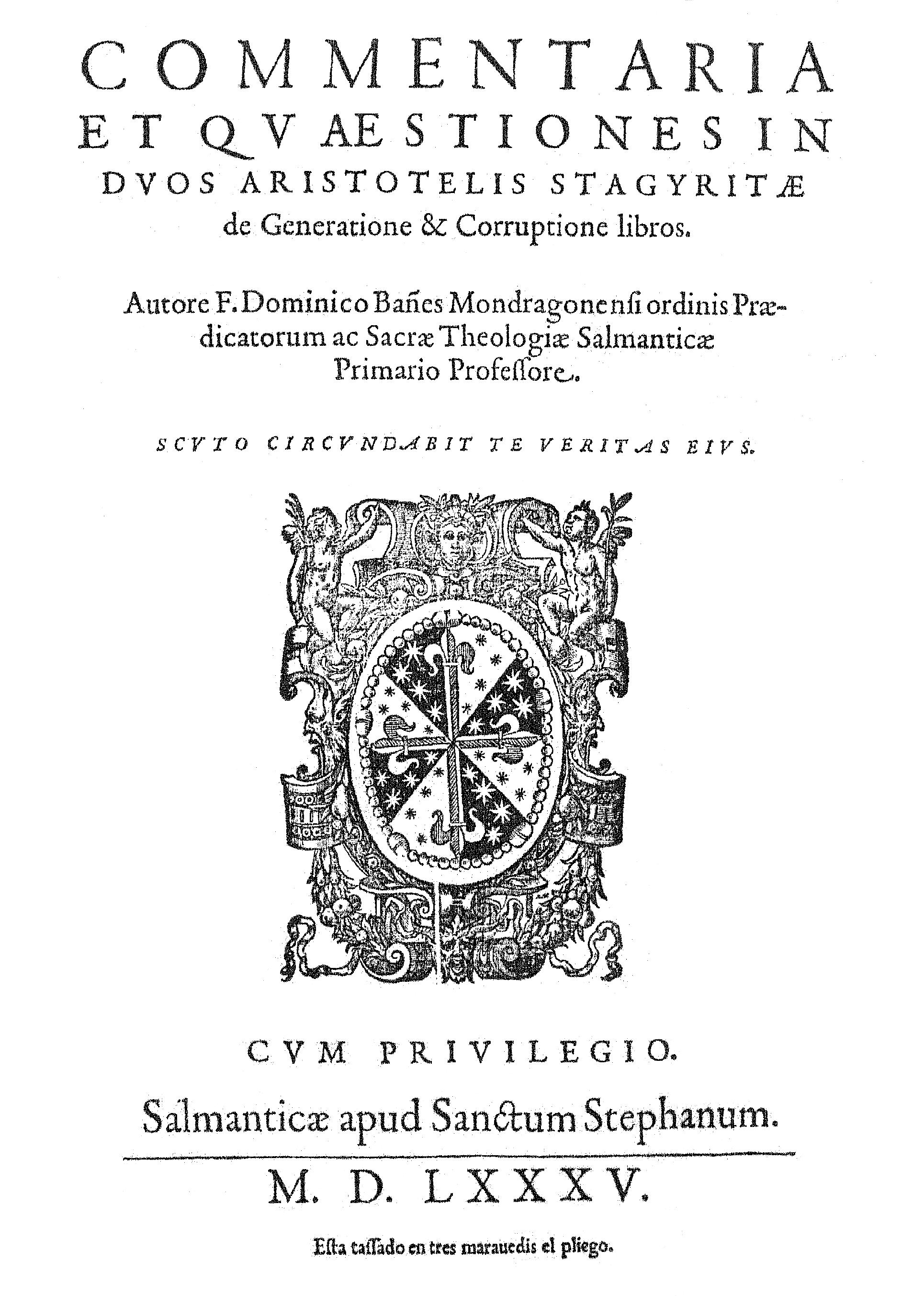 Domingo Báñez Wikipedia