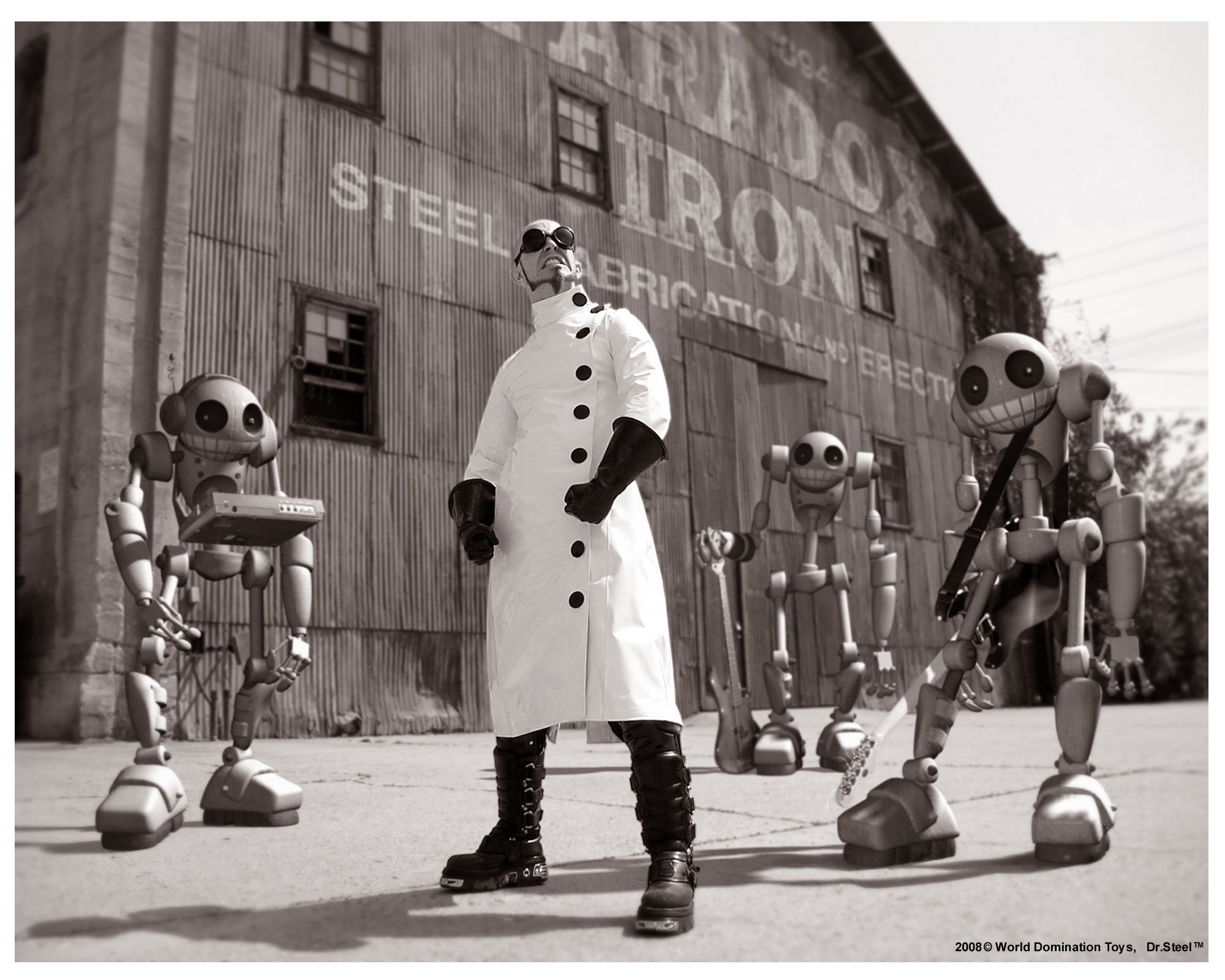 Picture of a band or musician: Doctor Steel