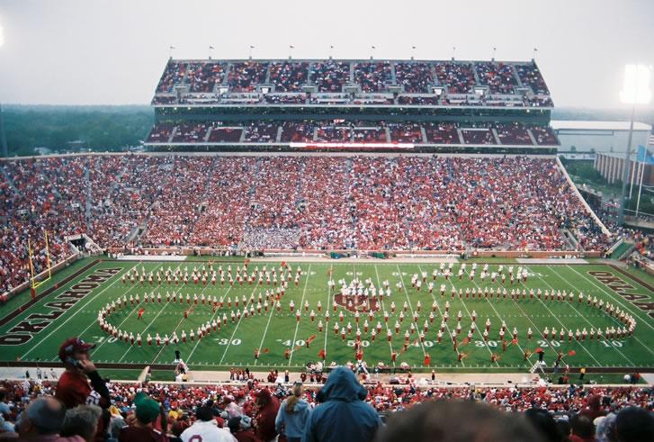 Gaylord Family Oklahoma Memorial Stadium