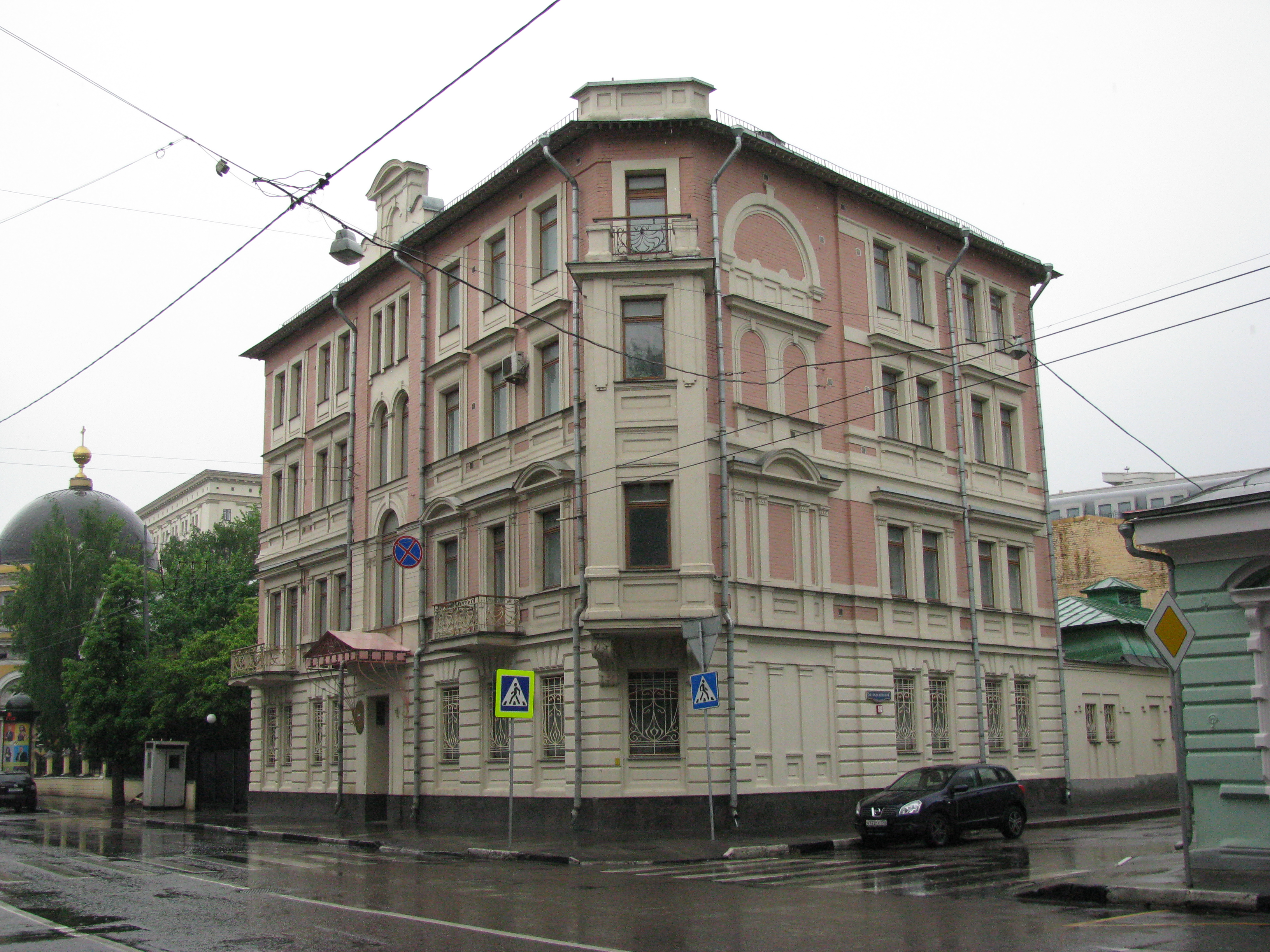 File Embassy Of Bahrain In Moscow Building Corner Jpg