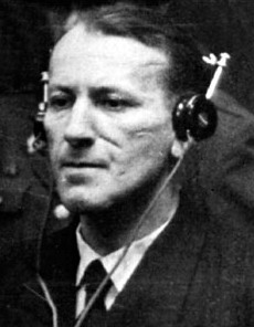Kaltenbrunner as a defendant in the Nuremberg trials