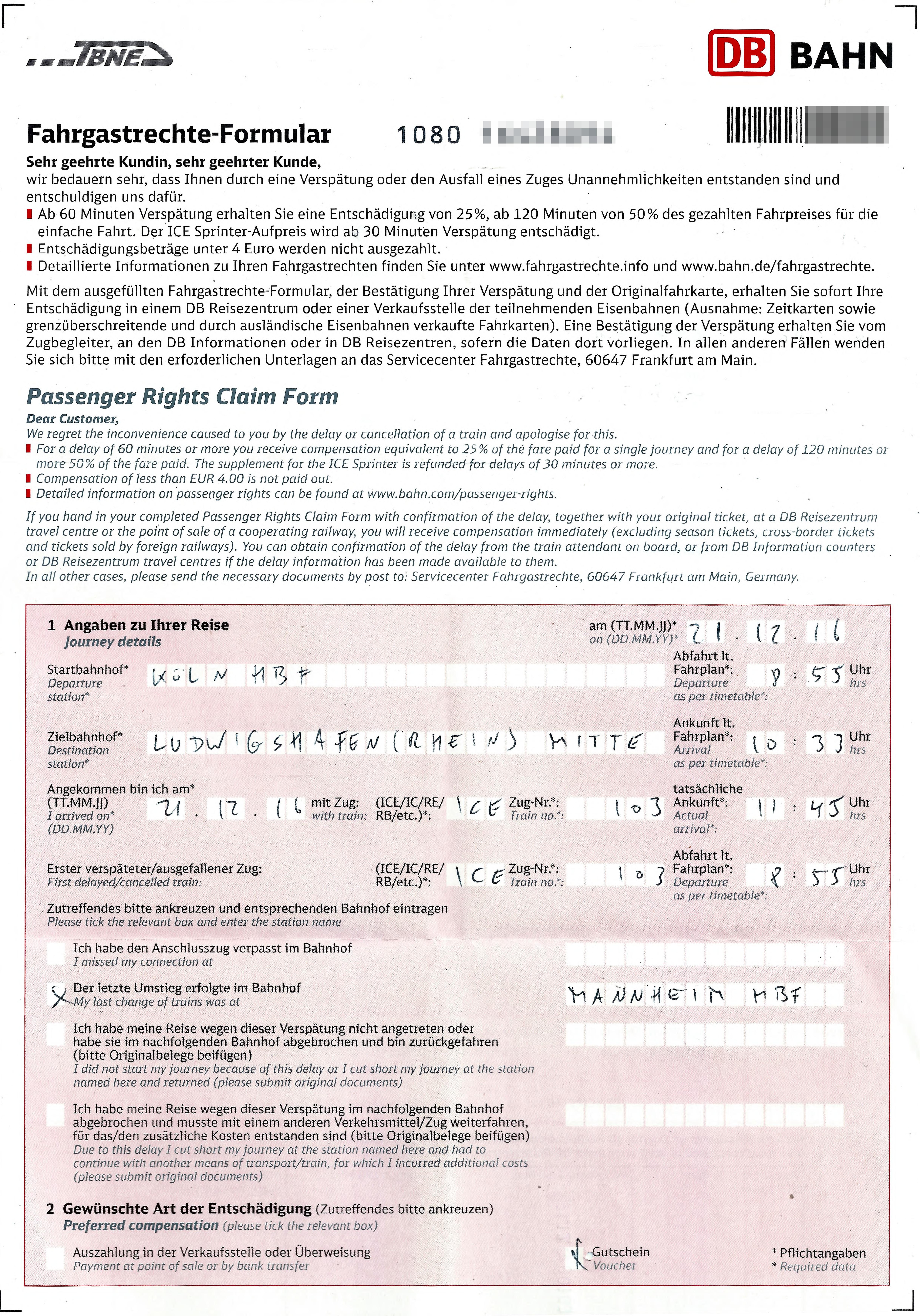 Fahrgastrechte Wikipedia