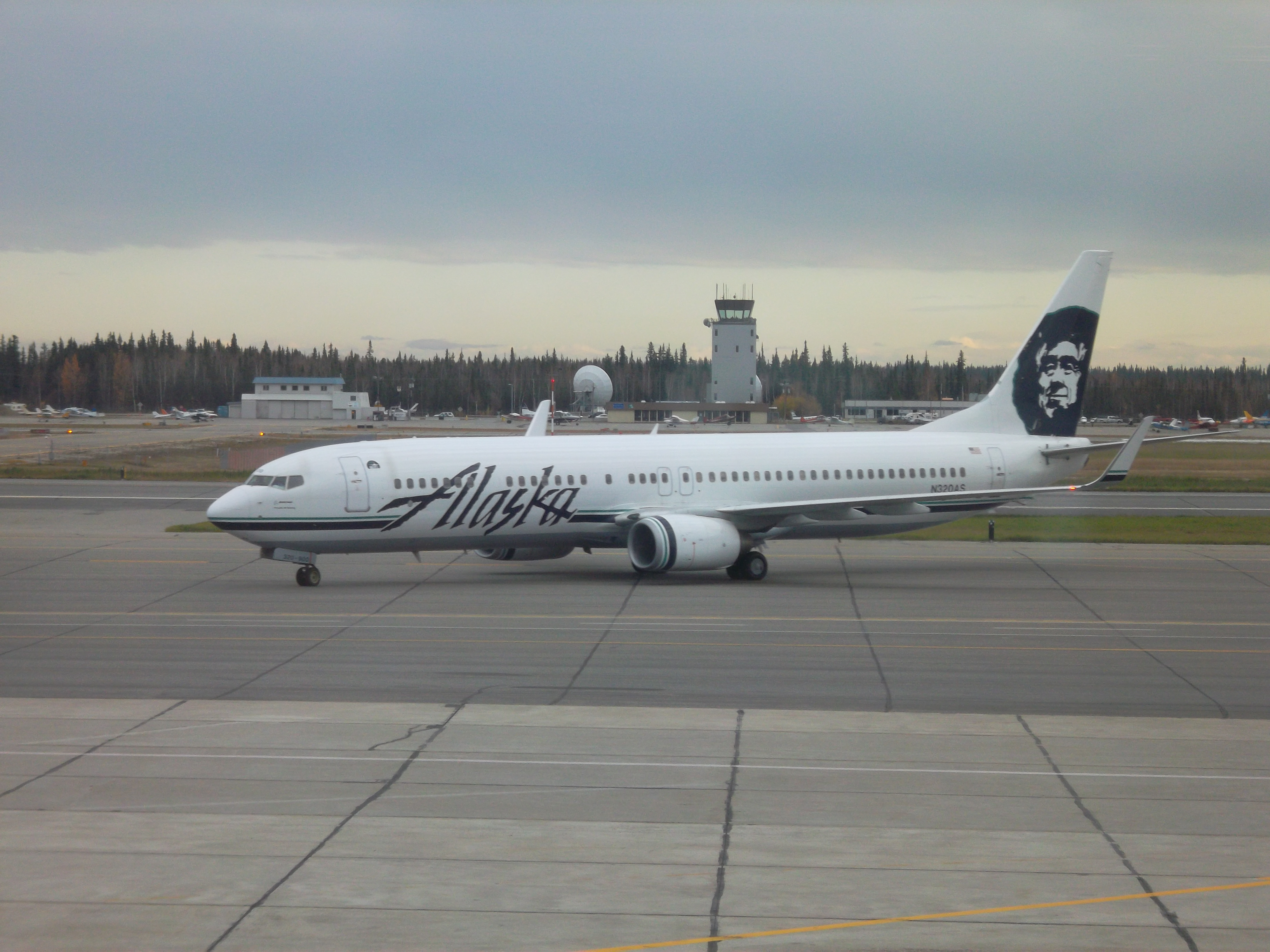 File Fairbanks International Airport Alaska Airlines Jpg