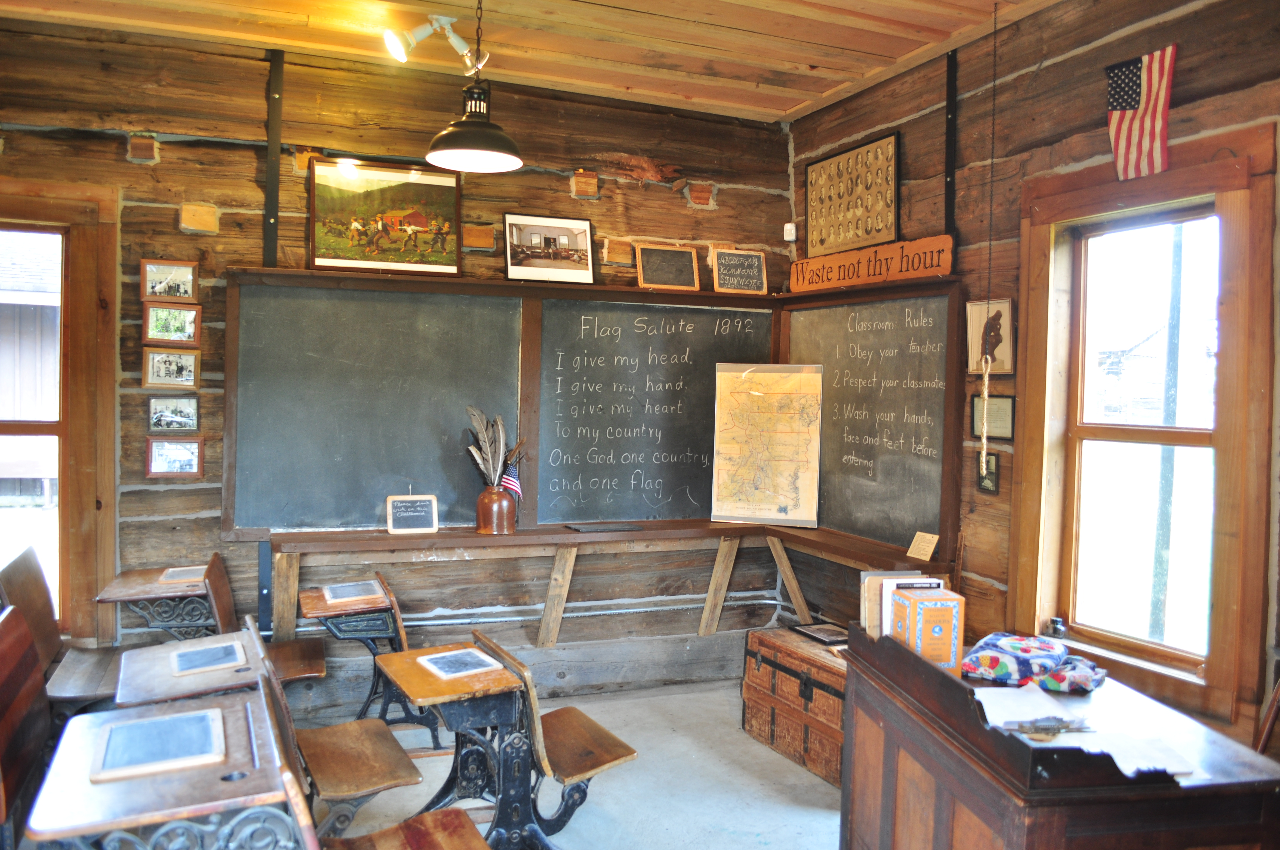 One Room School House Green Township Ohio Loudonville Ohio