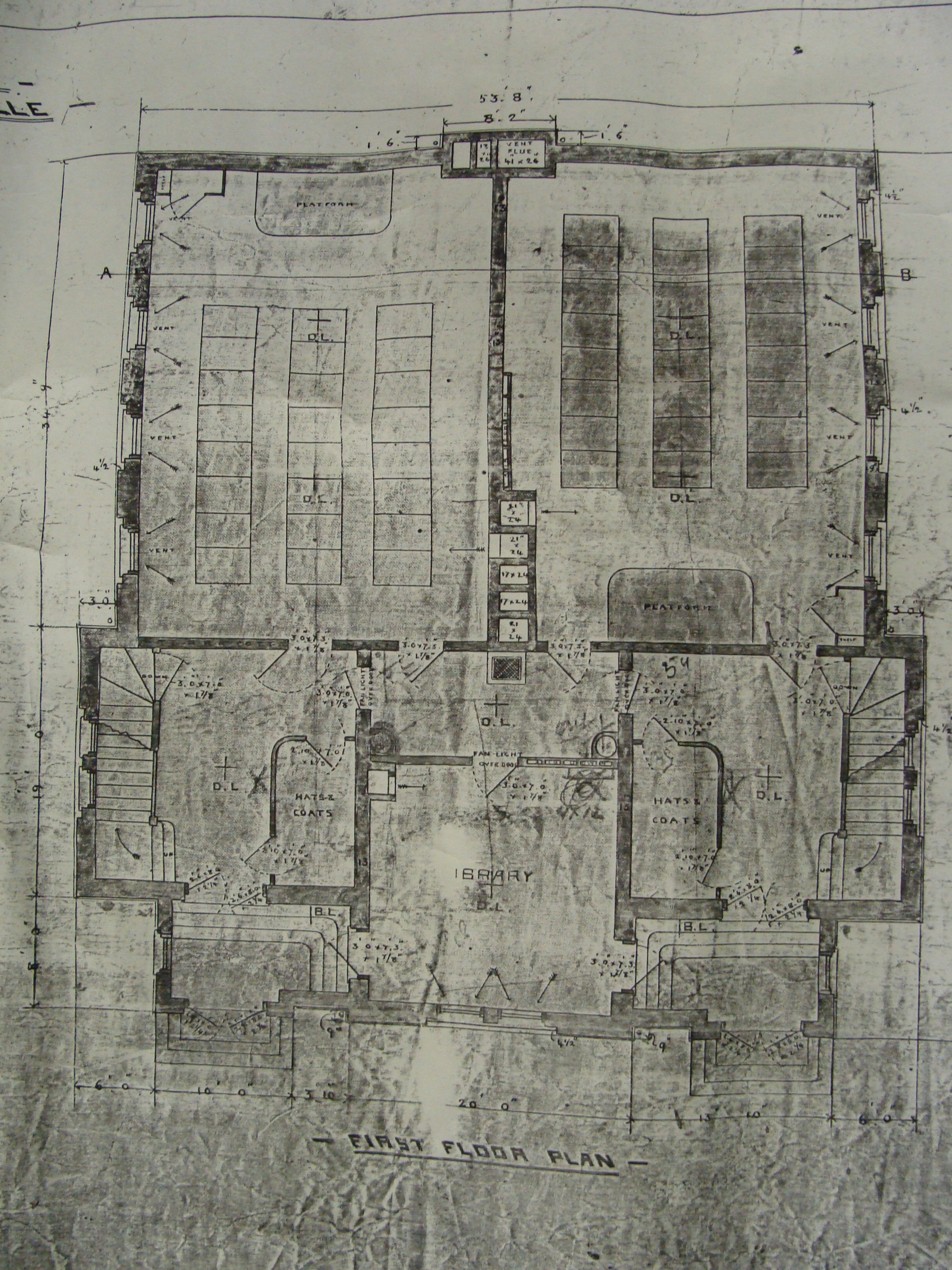 File Floor Plan Of The First Floor Of The Deseronto High School Showing Two Classrooms And The Library 3292304221 Jpg Wikimedia Commons