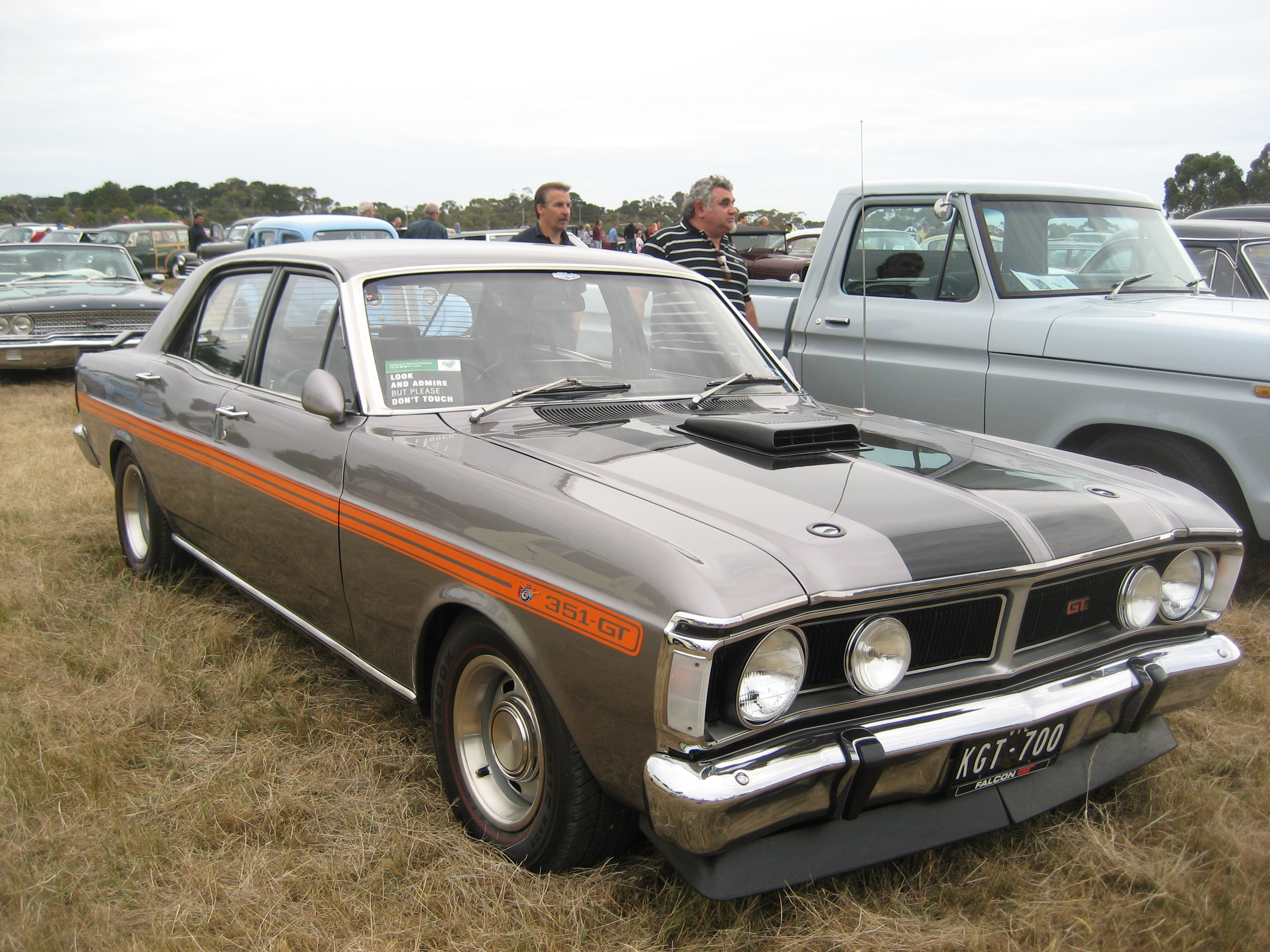 File Ford Falcon Xy Gt Quick Silver Jpg Wikimedia Commons