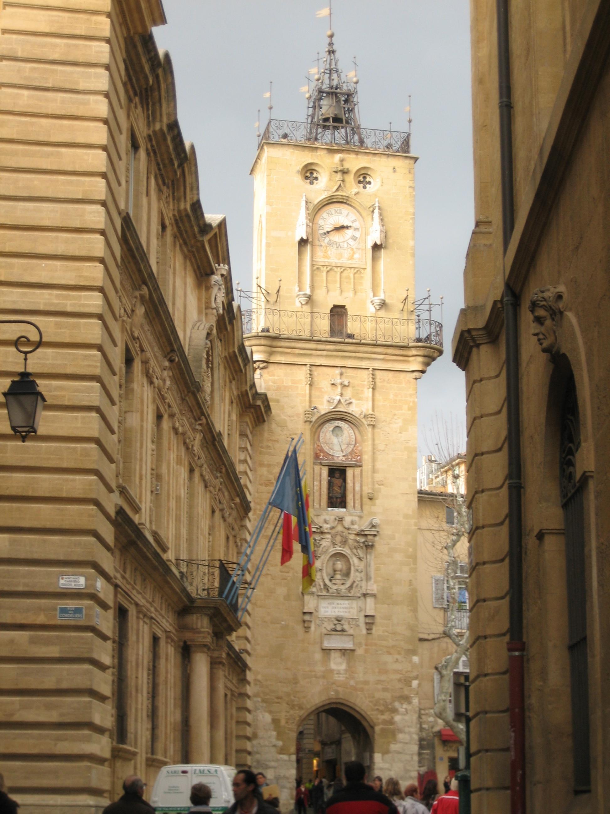File France Aix En Provence Hotel De Ville Jpg Wikimedia Commons