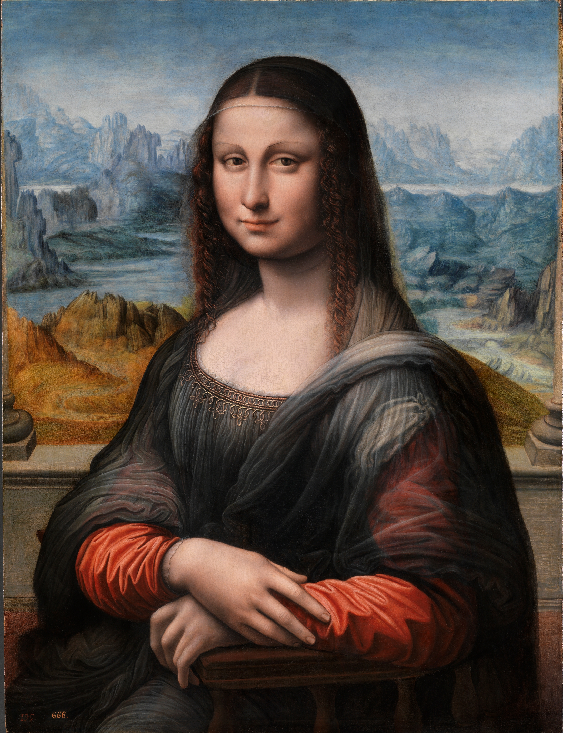 Image result for image of monalisa