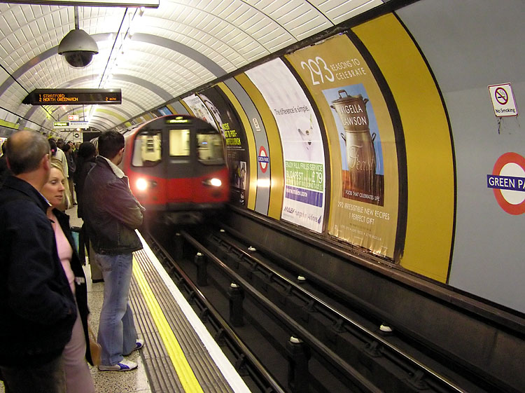 Colourful London Underground